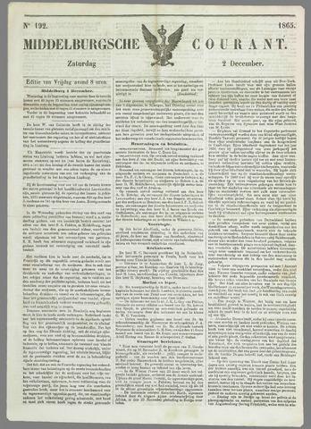 Middelburgsche Courant 1865-12-02