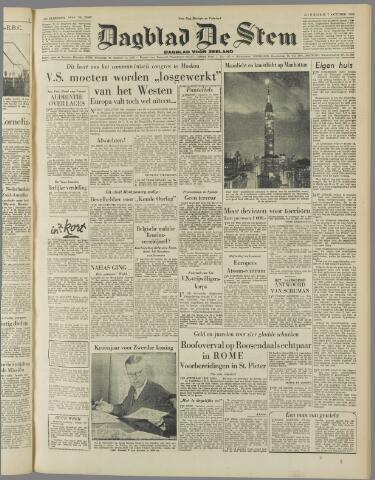 de Stem 1952-10-07
