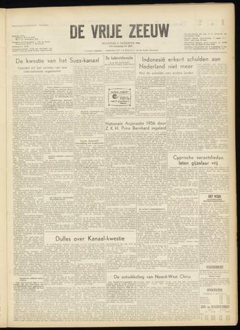 de Vrije Zeeuw 1956-08-06