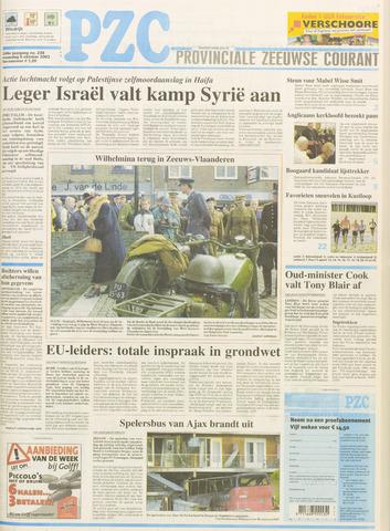 Provinciale Zeeuwse Courant 2003-10-06
