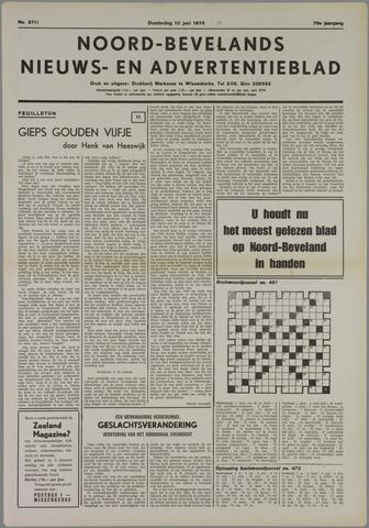 Noord-Bevelands Nieuws- en advertentieblad 1976-06-10