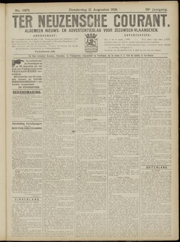 Ter Neuzensche Courant. Algemeen Nieuws- en Advertentieblad voor Zeeuwsch-Vlaanderen / Neuzensche Courant ... (idem) / (Algemeen) nieuws en advertentieblad voor Zeeuwsch-Vlaanderen 1919-08-21