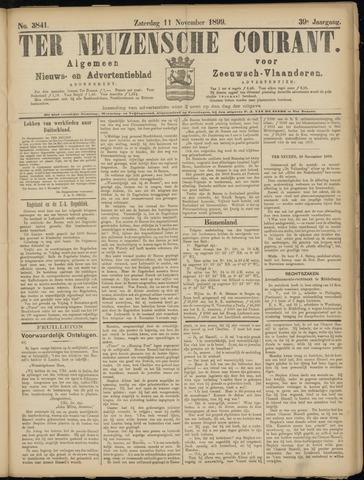 Ter Neuzensche Courant. Algemeen Nieuws- en Advertentieblad voor Zeeuwsch-Vlaanderen / Neuzensche Courant ... (idem) / (Algemeen) nieuws en advertentieblad voor Zeeuwsch-Vlaanderen 1899-11-11