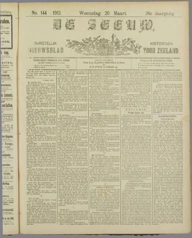 De Zeeuw. Christelijk-historisch nieuwsblad voor Zeeland 1912-03-20