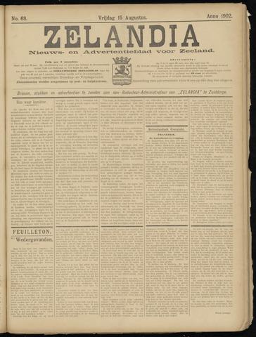 Zelandia. Nieuws-en advertentieblad voor Zeeland | edities: Het Land van Hulst en De Vier Ambachten 1902-08-15