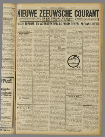 Nieuwe Zeeuwsche Courant 1927-12-29