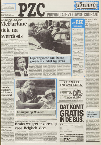 Provinciale Zeeuwse Courant 1987-02-10