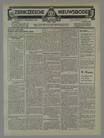Zierikzeesche Nieuwsbode 1941-08-05