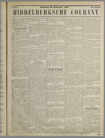 Middelburgsche Courant 1919-02-18