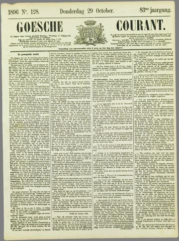 Goessche Courant 1896-10-29