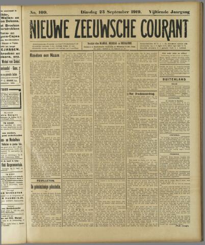 Nieuwe Zeeuwsche Courant 1919-09-23