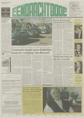 Eendrachtbode (1945-heden)/Mededeelingenblad voor het eiland Tholen (1944/45) 2004-03-25