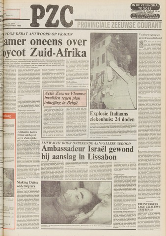 Provinciale Zeeuwse Courant 1979-11-14