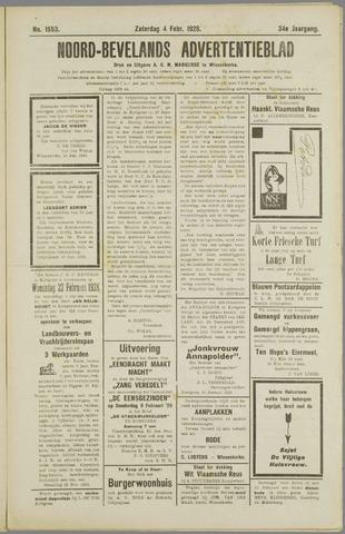 Noord-Bevelands Nieuws- en advertentieblad 1928-02-04