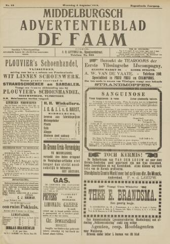 de Faam en de Faam/de Vlissinger 1915-08-04