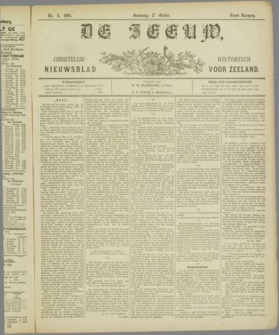 De Zeeuw. Christelijk-historisch nieuwsblad voor Zeeland 1895-10-17