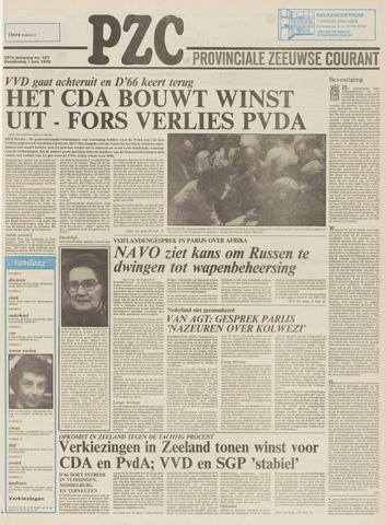 Provinciale Zeeuwse Courant 1978-06-01