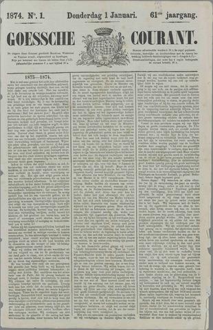 Goessche Courant 1874