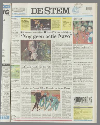 de Stem 1994-02-21