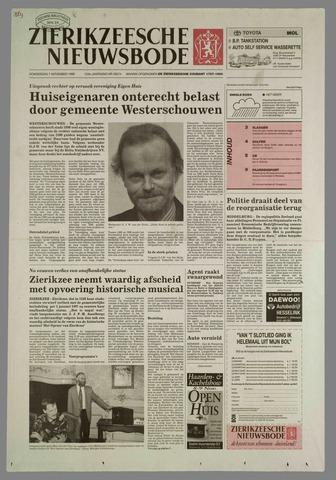 Zierikzeesche Nieuwsbode 1996-11-07