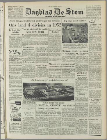 de Stem 1951-11-28
