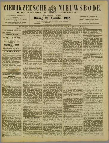 Zierikzeesche Nieuwsbode 1902-11-25