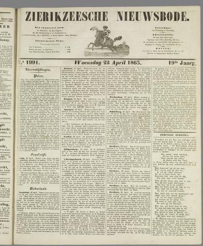Zierikzeesche Nieuwsbode 1863-04-22