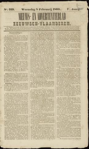 Ter Neuzensche Courant. Algemeen Nieuws- en Advertentieblad voor Zeeuwsch-Vlaanderen / Neuzensche Courant ... (idem) / (Algemeen) nieuws en advertentieblad voor Zeeuwsch-Vlaanderen 1860-02-08