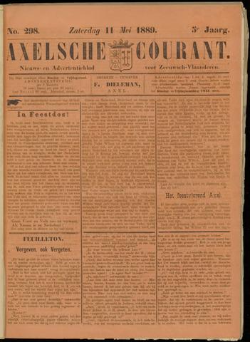 Axelsche Courant 1889-05-11