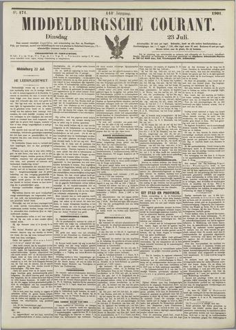 Middelburgsche Courant 1901-07-23
