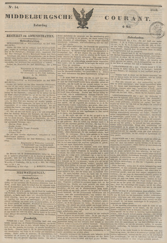 Middelburgsche Courant 1843-05-06