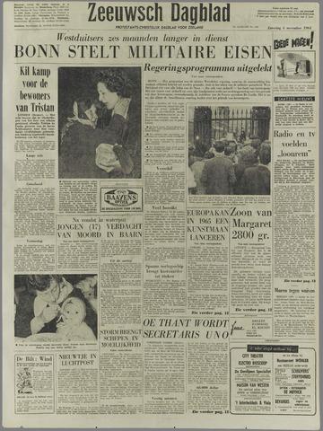Zeeuwsch Dagblad 1961-11-04