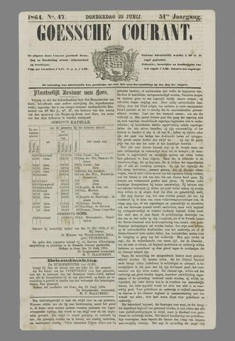 Goessche Courant 1864-06-23