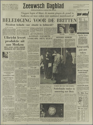 Zeeuwsch Dagblad 1962-04-25