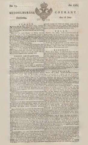 Middelburgsche Courant 1761-06-18