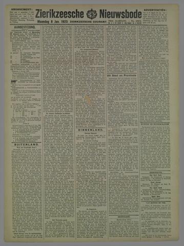 Zierikzeesche Nieuwsbode 1923-01-08