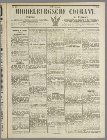 Middelburgsche Courant 1906-02-27