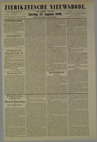 Zierikzeesche Nieuwsbode 1889-08-24