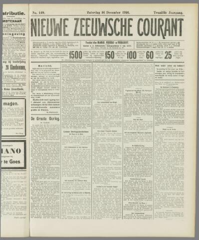 Nieuwe Zeeuwsche Courant 1916-12-16
