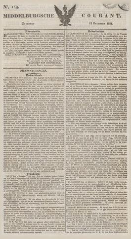 Middelburgsche Courant 1834-12-13
