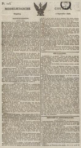 Middelburgsche Courant 1829-09-01