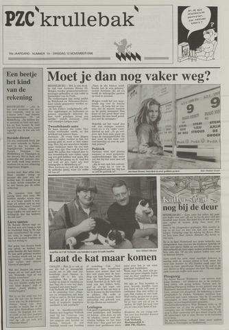 Provinciale Zeeuwse Courant katern Krullenbak (1981-1999) 1996-11-12