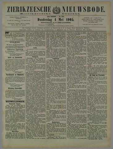 Zierikzeesche Nieuwsbode 1905-05-04