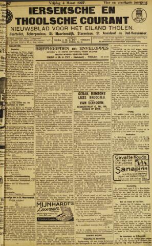 Ierseksche en Thoolsche Courant 1927-03-04