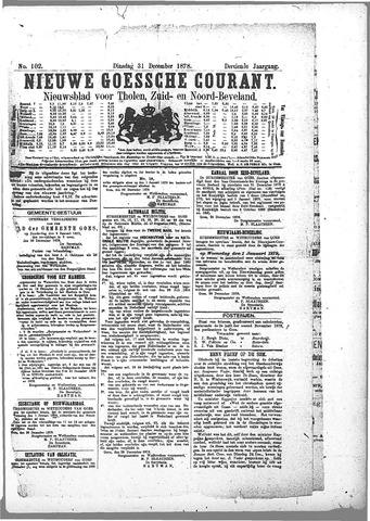 Nieuwe Goessche Courant 1878-12-31