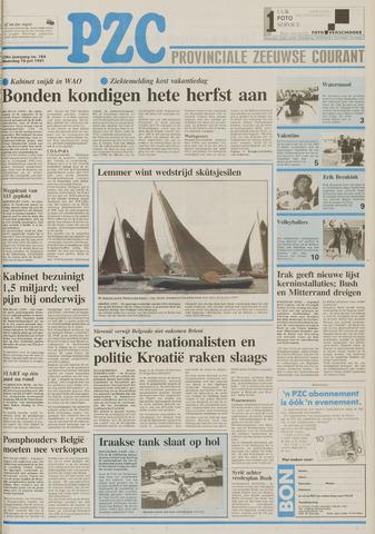 Provinciale Zeeuwse Courant 1991-07-15