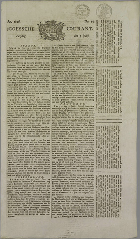 Goessche Courant 1826-07-07