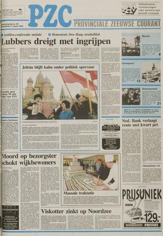 Provinciale Zeeuwse Courant 1993-03-11