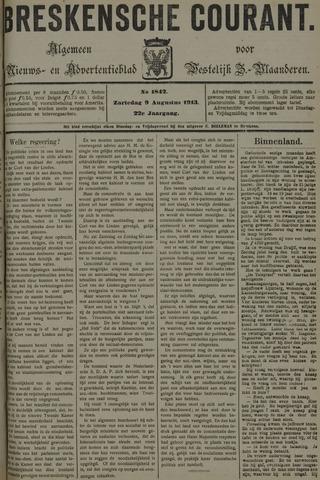 Breskensche Courant 1913-08-09