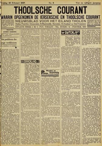Ierseksche en Thoolsche Courant 1937-02-12